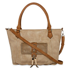 Louis Cardy Large Front Pocket Satchel