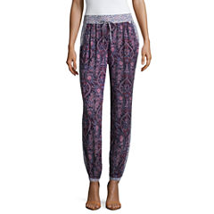 Us Polo Assn. Floral Pull-On Joggers-Juniors