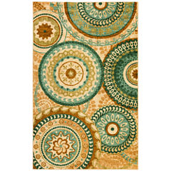 Mohawk Home Strata Forest Suzani Printed Rectangular Rugs