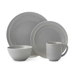 Pfaltzgraff Jocelyn Gray 16-pc. Dinnerware Set