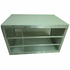 LG 26 In. Wall Sleeve and Stamped Aluminum Rear Grille for Through-the-Wall Air Conditioners