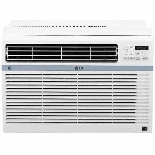LG ENERGY STAR® 10,000 BTU 115V Window-Mounted Air Conditioner with Wi-Fi Control