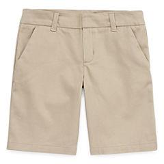 Arizona Slim Fit Woven Bermuda Shorts - Preschool Girls