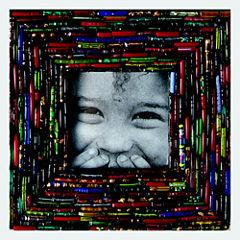 Colorful Bangle Tabletop Frame