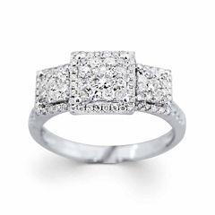 Brilliant Dream™  3/4 CT. T.W. Diamond Engagement Ring