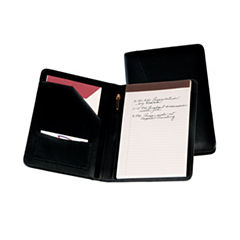Royce Leather Luxurious Bonded Leather Compant With Junior Sized Writing Pad Padfolio