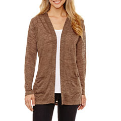 St. John's Bay Long Sleeve Cardigan