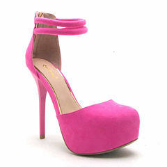 Qupid Bar-22 Womens Pumps