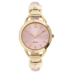 Mixit Womens Green Strap Watch-Jcp3007pg