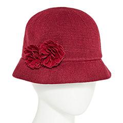 August Hat Co. Inc. Double Flower Cloche Hat
