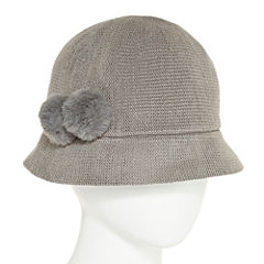 August Hat Co. Inc. Double Pom Cloche Hat