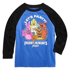 Long Sleeve Crew Neck T-Shirt-Preschool Boys