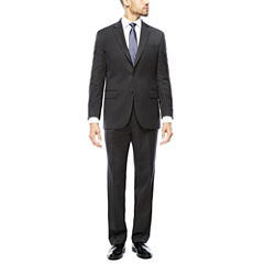 Stafford® 100% Wool Super 100s Chalk Stripe Suit Separates - Classic Fit