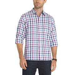 Van Heusen Long Sleeve Never Tuck Shirt