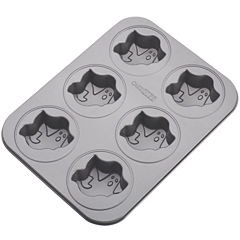 Cake Boss™ 6-Cup Ghost Nonstick Cakelette Pan