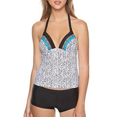 Arizona Animal Tankini Swimsuit Top or Boy Short Bottom-Juniors