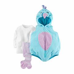 Carter's Peacock 3-pc. Dress Up Costume-Baby Girls