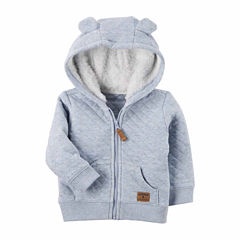 Carter's Midweight Fleece Jacket-Baby Boys
