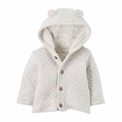 Carter's Midweight Fleece Jacket-Baby Unisex