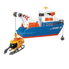 Large Action Explorer Boat Truck