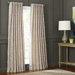 MarthaWindow™ Morning Tide Grommet-Top Curtain Panel