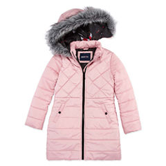 Limited Too Heavyweight Diamond Puffer Jacket - Girls-Big Kid