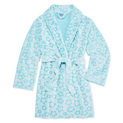Cloud 9 Long Sleeve Robe-Big Kid Girls