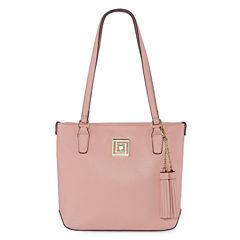 Liz Claiborne Constance Shopper Shoulder Bag