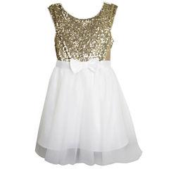 Lilt Sleeveless Cap Sleeve Party Dress - Big Kid Girls