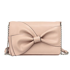 Nicole By Nicole Miller Lizzy Bow Crossbody Bag