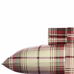 Eddie Bauer® Flannel Easy Care Sheet Set