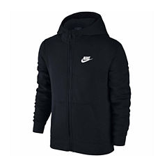 Nike Front Zip Hoodie Hoodie-Big Kid Boys