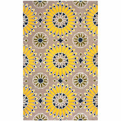 Rizzy Home Bradberry Downs Collection Hand-Tufted Lucy Medallion Area Rug