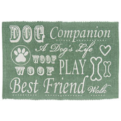 P. B. Paws by Park B. Smith® Dog Companion Cotton Pet Mat