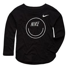 Nike Graphic T-Shirt-Toddler Girls