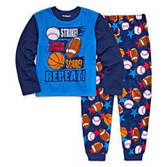 All Sport 2 Piece Pajama Set - Boys Big Brother 4-20