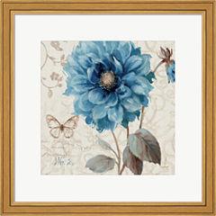 A Blue Note II Framed Print Wall Art