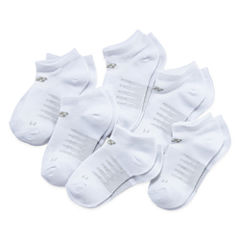 New Balance Girls 6 Pair No Show Socks-Big Kid