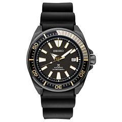Seiko Prospex Automatic Diver Mens Black Strap Watch-Srpb55