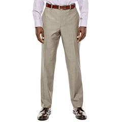 Collection by Michael Strahan Taupe Flat-Front Suit Pants - Classic Fit