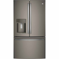 GE® Profile™ Series ENERGY STAR® 27.8 Cu. Ft. French-Door Refrigerator with Hands-Free AutoFill