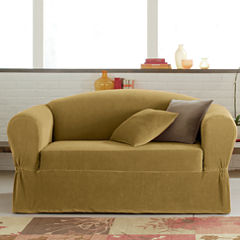 Maytex Smart Cover® Collin Stretch 2-pc. Loveseat Slipcover