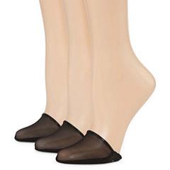 Libby Edelman 3 Pk Toe Covers - Womens