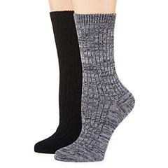 Mixit 2 Pair Boot Socks - Womens