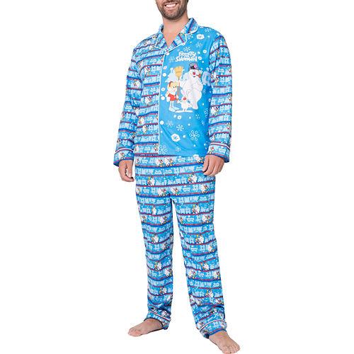Frosty The Snowman Family Pajama Set- Men's