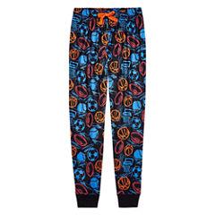 Arizona Husky Boys Sport Print Jogger Pajama Pant