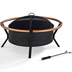 Crosley Yma Copper Ring Fire Pit