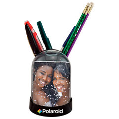 Polaroid Snow Globe Picture Frame and Pen-Pencil Holder