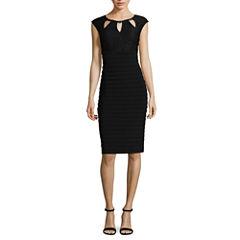 Scarlett Sleeveless Embellished Empire Waist Dress-Talls