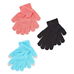 City Streets Girls Cold Weather Gloves-Big Kid